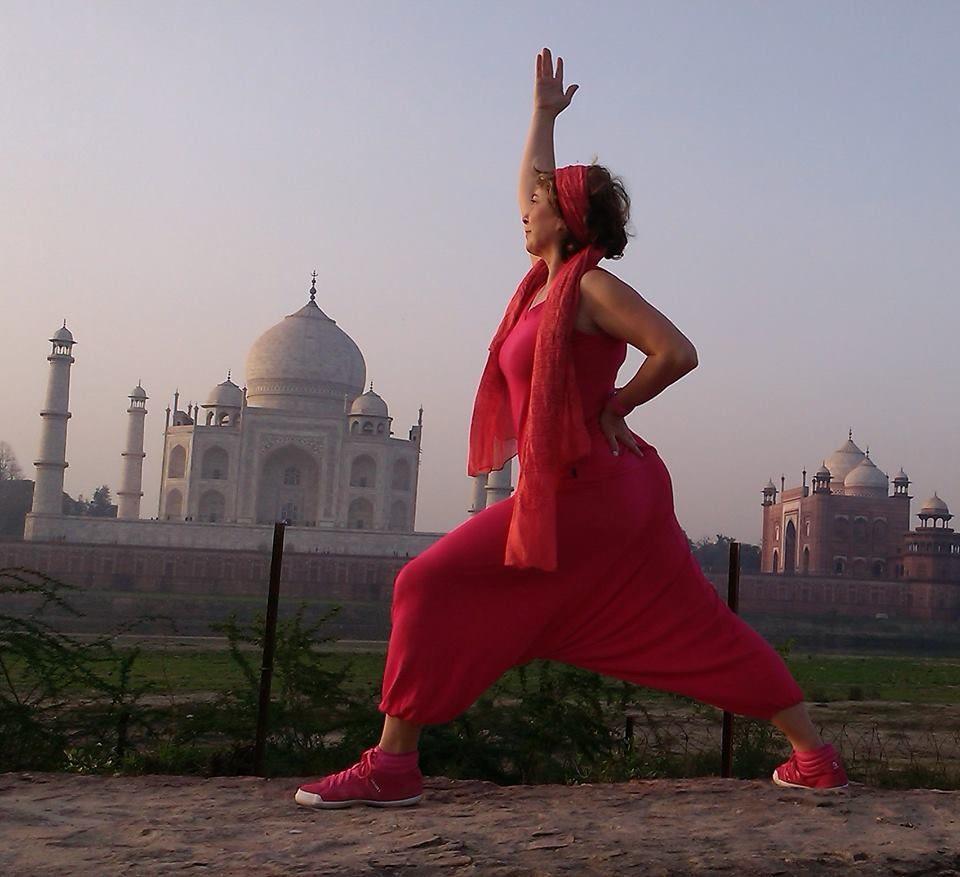 Anca Yoga in Indien