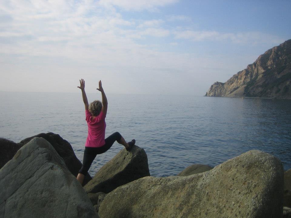 AncaYoga in Cinque Terre